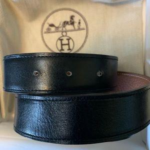 Hermès Reversible Leather Strap